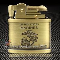 Geniune G.Horse Engraved Flying Falcon Marine Mark Pattern Oil Kerosene Vintage Cigar Cigarette Petrol Lighter