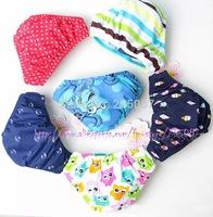 Retail (0-2Y) infant swimwear Baby adjustable leak-proof swim diapers infant swim trunks baby triangle cute swimwear infant swim