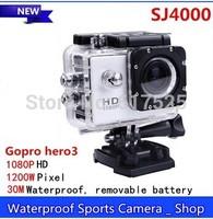 2014 Action Camera Diving 30Meter Waterproof Camera 1080P Full HD SJ4000 Helmet Camera Underwater Sport Cameras Sport DV Car Dvr