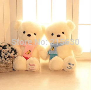 Wholesale 30 cm lovely scarf teddy bears, valentine gift, Christmas gift, birthday gift, free shipping!(China (Mainland))