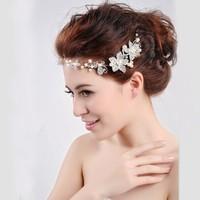 Free Shipping Vintage Bridal Headpiece For Wedding Beautiful Clear Crystals Wedding Party Bridal Tiara/ Headpiece/ Headband