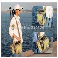 2014 special Free shipping multi-function Waterproof leg bag belt bag shoulder bag man travel bags with kettle pocket four color