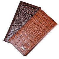 Wholesale 20 Slot new Billfold Brand Men Genuine Leather Crocodile long Wallet Clutch gents Purse Carteira Masculina Couro bolsa