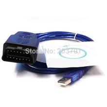 Ваг 409 VAG-COM 409.1 VAG COM 409.1 KKL OBD 2 USB VAG409.1 кабель сканера Scan Interface Tool Для Ади VW Бесплатная доставка(China (Mainland))