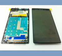 100% Guarantee LCD Display  with Touch Screen Digitizer +Frame Assembly For Sony Xperia Z1 L39 L39H Free Shipping