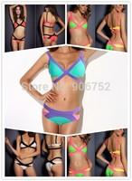 2014 European and American brands factory wholesale sexy cute black steel prop Bikini swimwear fashion sent free DST-480