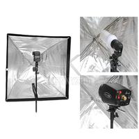Portable 70x70cm Square Photo Studio Flash Speedlite Softbox Diffuser Reflector Umbrella Free Shipping
