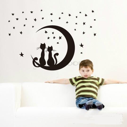 Nieuwe Slaapkamer Ideeen : Nieuwe diy muur sticker muurschildering ...
