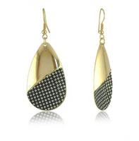 Free Shipping 5(Pair/Lot) Simple Design Style Fashion Teardrop-Shaped Drop Earrings