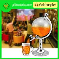 Free shipping Bar tool Mini beer dispenser globe beer machine mini globe beverage machine 1.5L