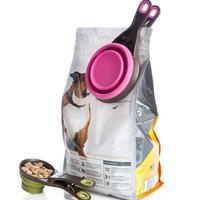 Folding bowl food bags food grain shovel spoon L cup measuring cup water bowl feeding bowls