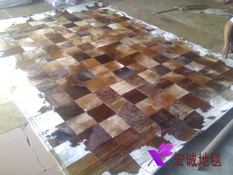 Leather Carpet Leather Carpet Mat(china