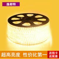 220v bright led strip 3014 120 beads ceiling light