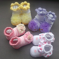 Korean version of spring and summer days thin baby lace socks relent original single-dimensional