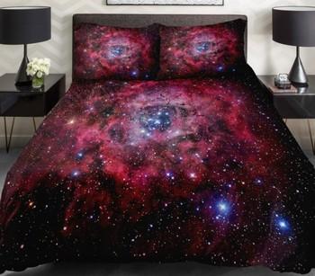 Коллекции постельных принадлежностей из украшения дома IdeasGalaxy одеяло пододеяльники Galaxy постельное белье с 2 бросок наволочки