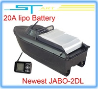 2014 Newest JABO-2DL jabo 2DL remote control rc Bait Boat RTR With Fish Finder Backward turning Spot turning upgraded 2B 2BS 2BL