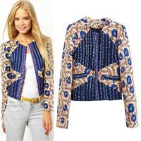 New fashion women clothing autumn & winter coat restoring ancient  cultivate Outerwear & Coats short set womens coat jacket