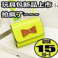 2014 women's summer handbag mini bag candy color bow neon bags lalggl83