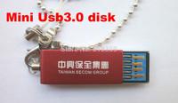 latest MINI USB3.0 flash driveUSB3.0 Disk Waterproof. Dust, shock, drop,16GB/32GB/64GB  free shipping