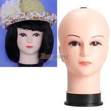 EA1 Real Female Mannequin Head Model Wig Hat Jewelry Display Cosmetology Manikin