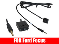 3.5MM jack AUX IN CABLE ADAPTOR FOR FORD FOCUS 6000 CD  iPOD iPHONE iPAD ADAPTOR