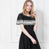New 2014 Women Summer Maxi Dress Spanish Style Elegant Vintage Lace Long dresses