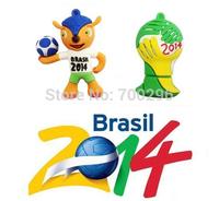 Free shipping New design 2014 brazil world cup mascot usb flash drive 8GB 16GB 32GB 64GB, USB Memory Stick Pen wholesale