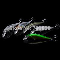 Trulinoya DW34 78mm 9.2g Minnow fishing hard bait lures,with VMC hook lures,5pcs/lot,Free shipping