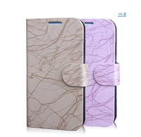 30PCS/lot full housing for Samsung galaxy S4  flip pu leather phone case for Samsung galaxy SIV I9500 Wallet design Free Ship