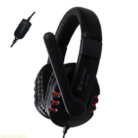 Game Headphones SOMIC EV-55 Gaming headset Stereo On Ear Earphones with Microphone Noise Cancelling Good Bass