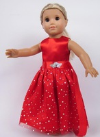 """Free shipping!!! hot 2014 new style Popular 18"""" American girl doll clothes/dress b26"""