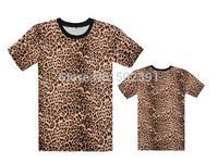 New arrival blank Leopard short sleeve t shirts,galaxy,Floral t shirt,Hiphop men's TEE Size S-XXXL 19styles