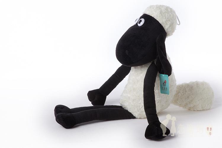 Sheep 32cm Hot sales Free shipping Kawaii Stuffed animals Anime manufacturers Plush toys doll Minion Learning & education 0358(China (Mainland))