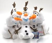 "Drop shipping 1pcs Frozen Olaf the Snowman Soft Plush Stuffed Doll White Toy 9"""