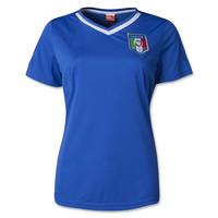Italy Women's 2014 World Cup Home Soccer Jersey,2014 Italy Home PIRLO BALOTELLI DE ROSSI Osvaldo Thailand Women's Jersey.