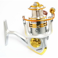Spinning Fishing Reel 2000 Series 11BB Metal Spool Left and right interchangeably Gapless system Free Shipping