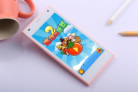 "New arrival 4.7"" Screen dual cameras dual sim cards Android 4.0 Smart cellphone"