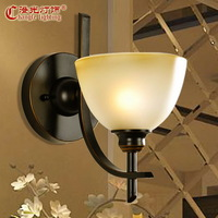 Fashion classical lamps 92 walls stair wrought iron wall lamp