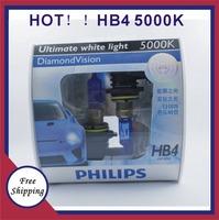 HB4 German imports Freeshipping 100% Original Genuine Blue Diamond  5000K bright white light hb4 12972 car distance light bulb