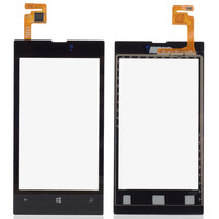 Front LCD Lens Screen Digitizer Touch Glass For Nokia Lumia 520 B0264