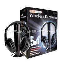 5 In 1 Wireless Combination Headset Wireless Headset Fm