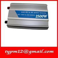 Modified Sine Wave USB Mobile Car Inverter DC24V to AC220V auto inverter 2500W+free shipping