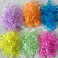 Buy 5 get 6 Loom DIY loom woven material rubber band bracelet supplementary package Glitter