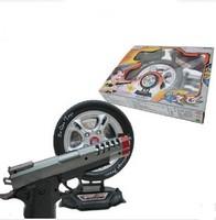 Free shipping! Hot sale 3C Certification children toy gun infrared shooting laser pistol electric musical training guns
