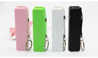 power bank 2600mah 5 colors Dual USB Output Universal Battery Charger