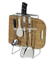 Multifunctional Tool Holder Knife Block Cutting Board Knife Rack