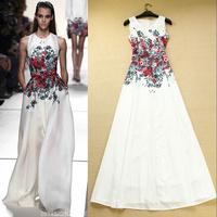 New summer dress 2014 Fashion casual dress print elegant long dress women maxi dress X63