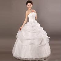 Butterfly wedding yarn Korean explosion models 2014 new wedding dress Korean Bra princess tutu