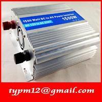 Modified Sine Wave USB Mobile Car Inverter DC12V to AC220V auto inverter 1500W+free shipping