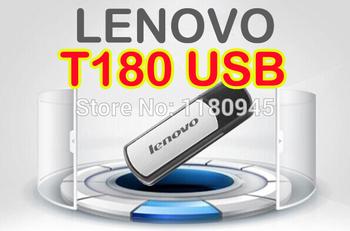 Бесплатная доставка оптовая продажа Lenovo T180 оригинал Usb флешки 16 г 32 г 64 г Usb 2.0 16 г 32 г Usb 2.0 памяти для хранения диск